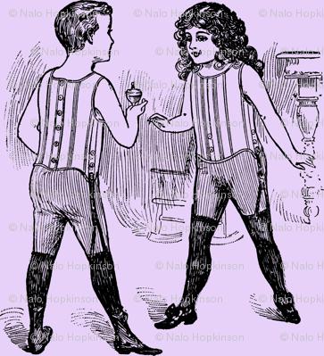 Wrestlers, lavender