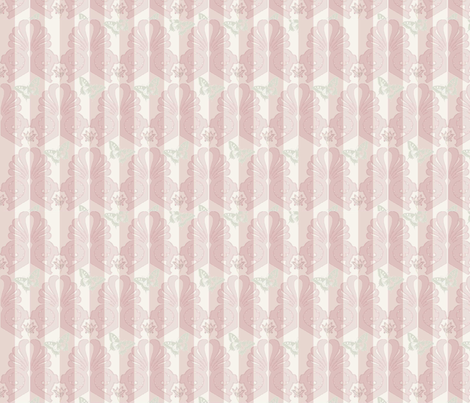 Flowers__Butterflies__Stripes_and_Ornaments fabric by corinna on Spoonflower - custom fabric