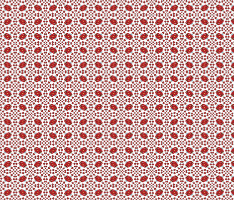 Strawberry Blonde Callico Print fabric by blueberryblonde on Spoonflower - custom fabric