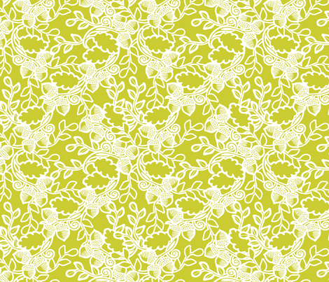 Forest moss fabric by tailorjane on Spoonflower - custom fabric