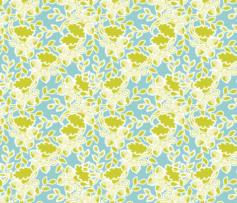 Forest sky fabric by tailorjane on Spoonflower - custom fabric