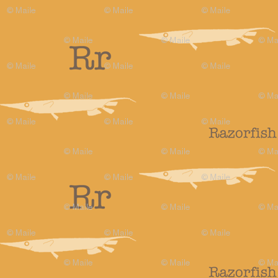 R is for Razorfish