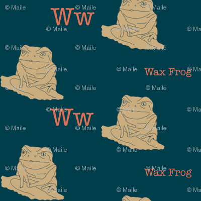 W is for Wax Frog