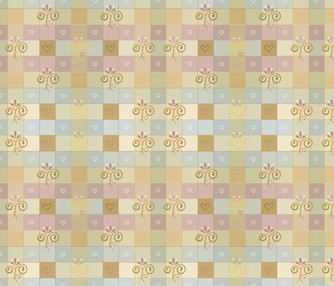 Foggydaygingham fabric by leslipepper on Spoonflower - custom fabric