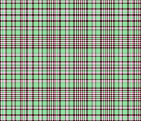 green plaid fabric by connielou on Spoonflower - custom fabric