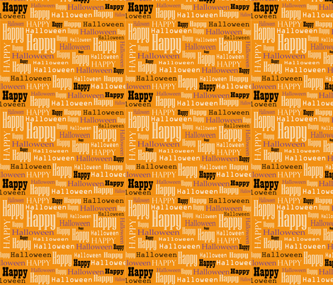 halloween fabric by catalinaalvarez on Spoonflower - custom fabric