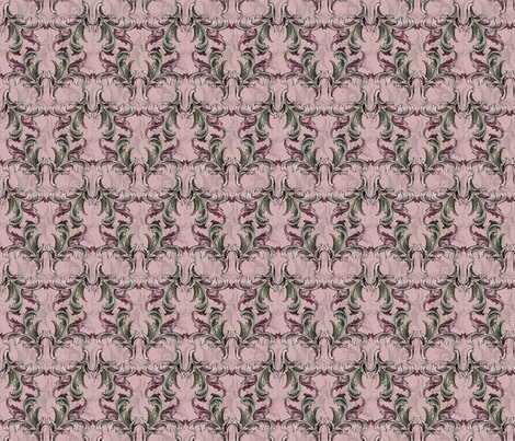 Rosa_mit_Hintergrund fabric by corinna on Spoonflower - custom fabric