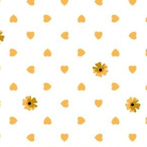 Hearts n Flowers - Glitter