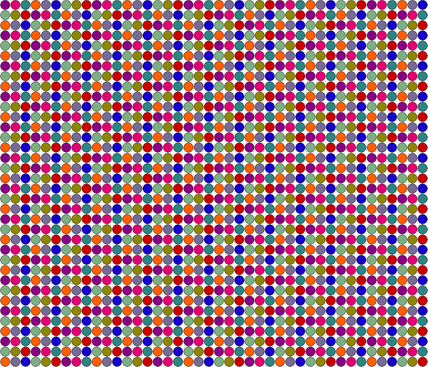 vll_penny_dots_1-ed fabric by victorialasher on Spoonflower - custom fabric