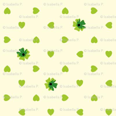 Hearts n Flowers - Crocodile