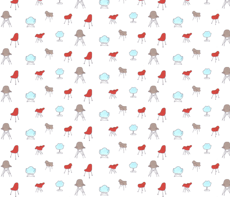 Take_a_Load_off fabric by anenome on Spoonflower - custom fabric