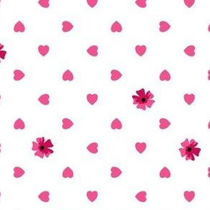 Hearts n Flowers - Lolly