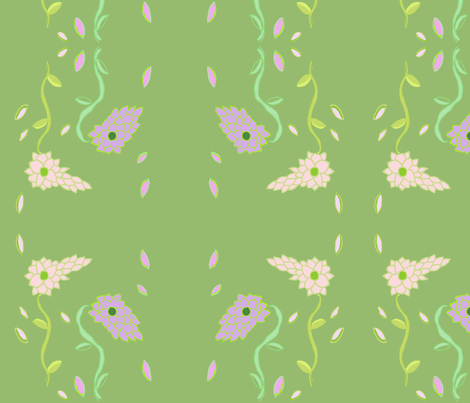 Fluer1 fabric by dragonflyfae on Spoonflower - custom fabric