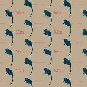 M is for Marmoset
