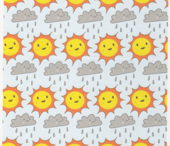 Happy Sun and Sad Rain