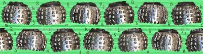 Alphabet Type Balls