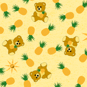 Tropical Bear - Sunshine