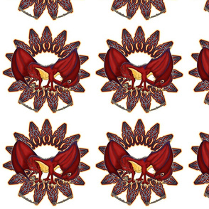 dragon-in-circle_spoonflower
