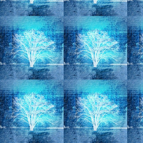 Tree_Handwriting_Blue_8x8