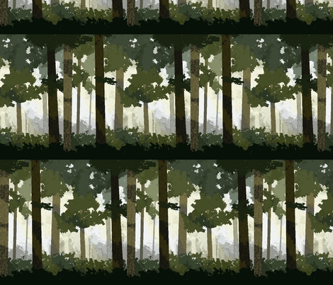 Trees_smaller fabric by shout4joyquilter on Spoonflower - custom fabric