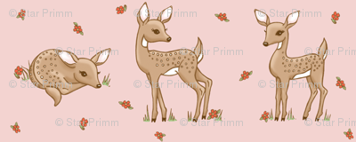 darling deer pink