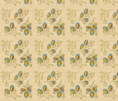 ekstrom- first branches fabric by lisaekström on Spoonflower - custom fabric