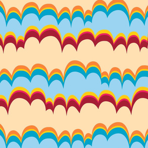 Pepperland : Geo Stripe