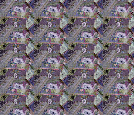 garden_quilt_017 fabric by pansypatch on Spoonflower - custom fabric