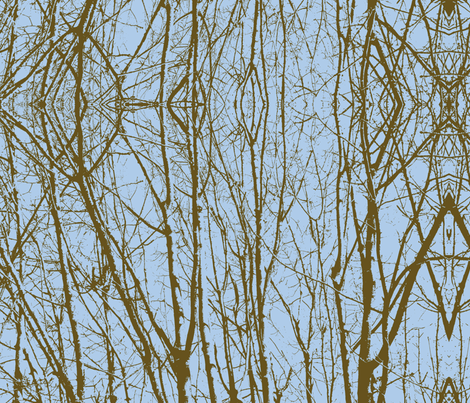 In the forest fabric by sequingirlie on Spoonflower - custom fabric