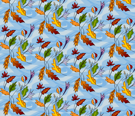 lucid_fall_blubak fabric by thatswho on Spoonflower - custom fabric