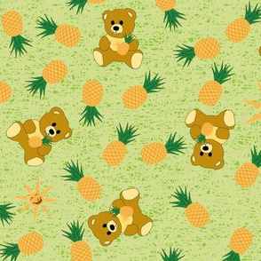 Tropical Bear - Bamboo Green