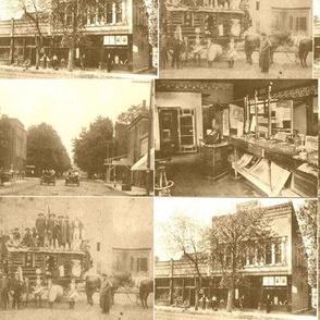 vintage postcard scenes