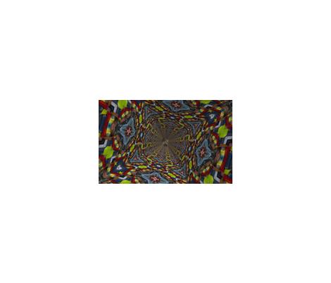 alice_falling fabric by robbrez on Spoonflower - custom fabric