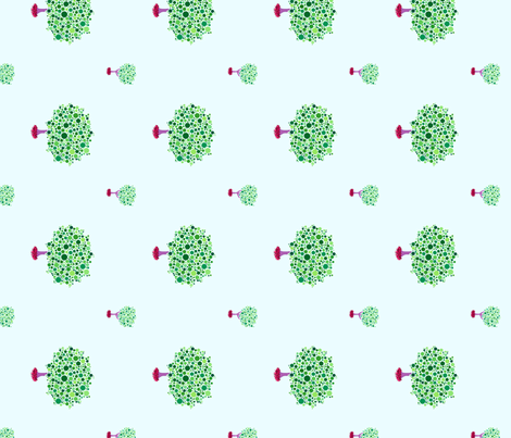 Arboretum fabric by leighr on Spoonflower - custom fabric