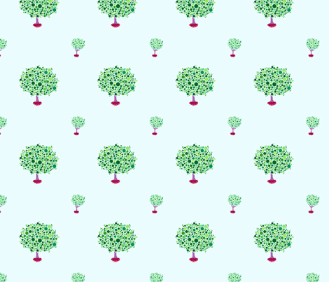 Arboretum (Rotate) fabric by leighr on Spoonflower - custom fabric