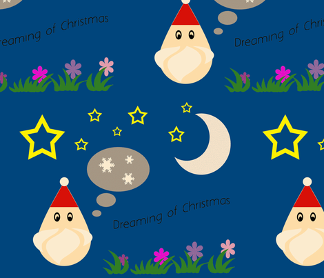 santasdream-ch fabric by snork on Spoonflower - custom fabric