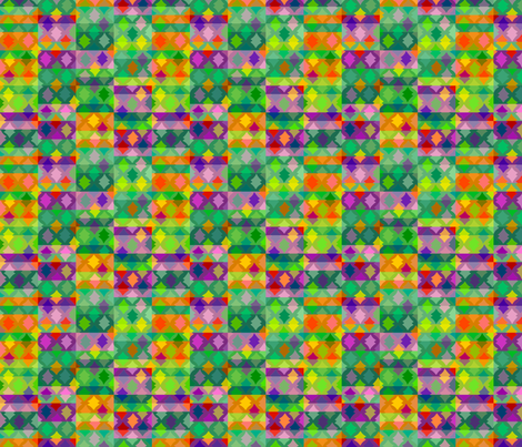 crazy spindles fabric by robinde on Spoonflower - custom fabric