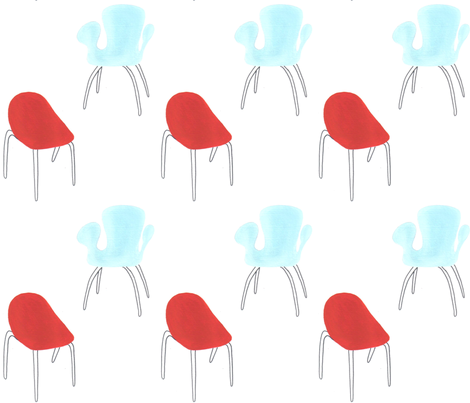 chairs fabric by anenome on Spoonflower - custom fabric