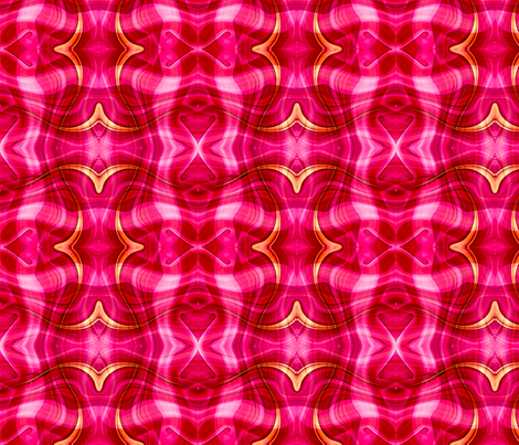 pinky_plaid fabric by needlesongs on Spoonflower - custom fabric
