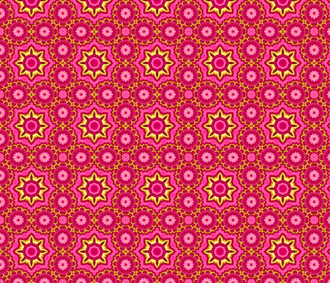 posey_ring fabric by needlesongs on Spoonflower - custom fabric