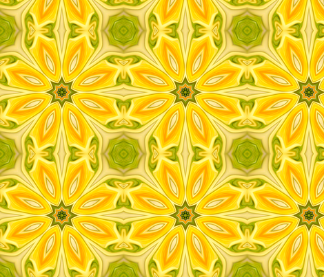 water_lily_secrets fabric by needlesongs on Spoonflower - custom fabric
