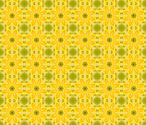 water_lily_secrets_small fabric by needlesongs on Spoonflower - custom fabric
