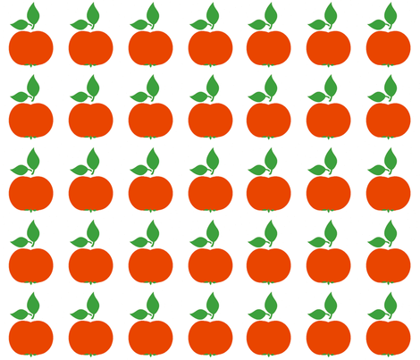 apples-ch fabric by snork on Spoonflower - custom fabric