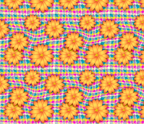 wiggles_n_blooms fabric by needlesongs on Spoonflower - custom fabric