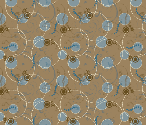 ArtHerstoryDots fabric by tammikins on Spoonflower - custom fabric