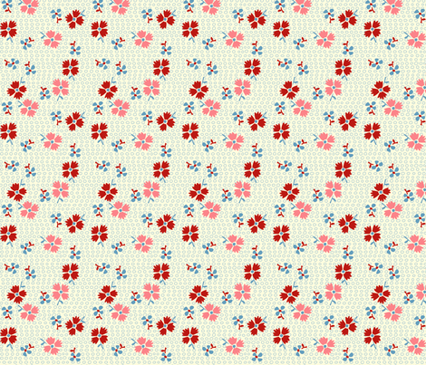 Frances fabric by beckarahn on Spoonflower - custom fabric