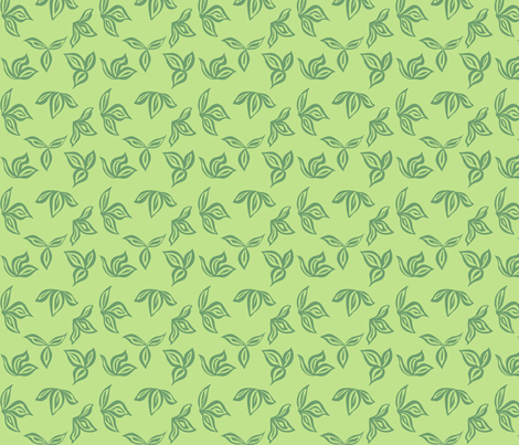 green_barkcloth_pattern fabric by vo_aka_virginiao on Spoonflower - custom fabric