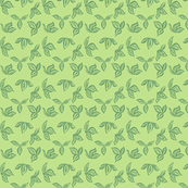 green_barkcloth_pattern