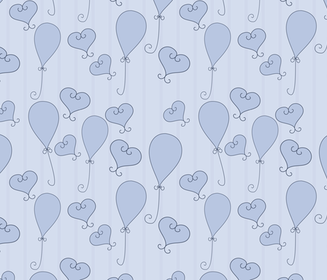 baby boy pattern fabric by suziedesign on Spoonflower - custom fabric