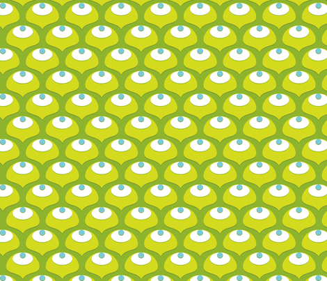 Ginko Spring fabric by cyoungquist on Spoonflower - custom fabric